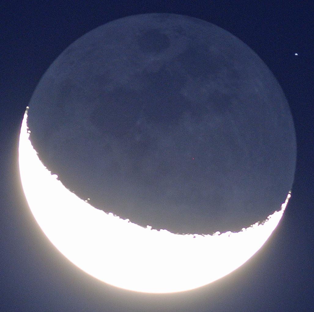 薄明の地球照、ここ最近の金星の比較_e0089232_05520352.jpg