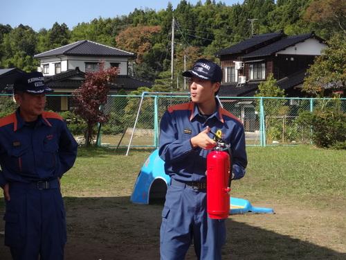 避難訓練がありました_d0166047_844273.jpg