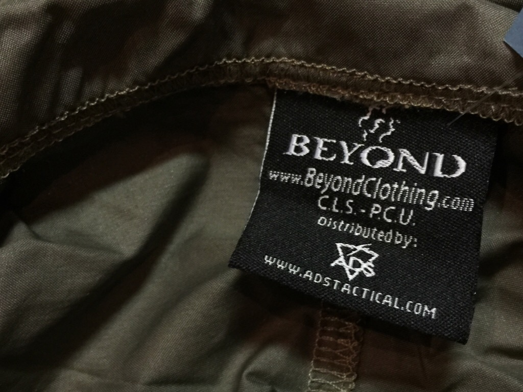 神戸店10/10(土)モダンミリタリー入荷!#2 Beyond LEVEL-4 BoraShock JKT,LEVEL-5 Cold Fusion Shock JKT!!!_c0078587_12515275.jpg