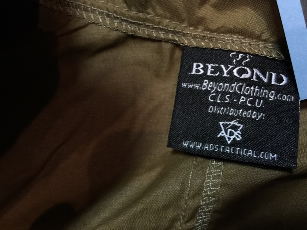 神戸店10/10(土)モダンミリタリー入荷!#2 Beyond LEVEL-4 BoraShock JKT,LEVEL-5 Cold Fusion Shock JKT!!!_c0078587_12565035.jpg