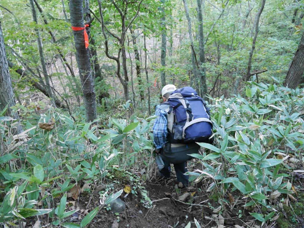 恵庭岳、10月7日-初めての登山ルートで-_f0138096_11565938.jpg