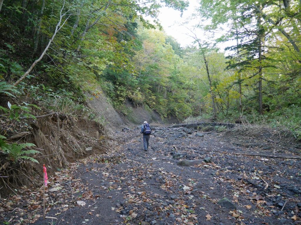 恵庭岳、10月7日-初めての登山ルートで-_f0138096_11571857.jpg