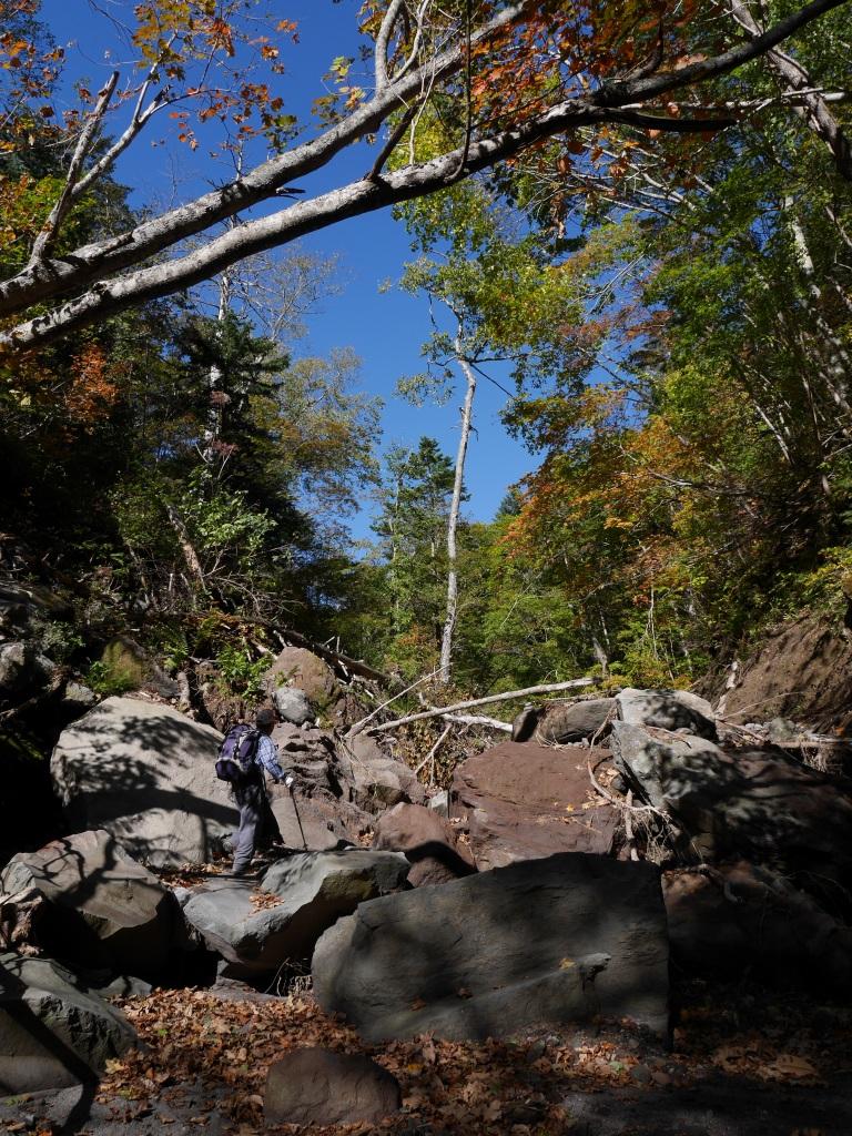 恵庭岳、10月7日-初めての登山ルートで-_f0138096_11585283.jpg