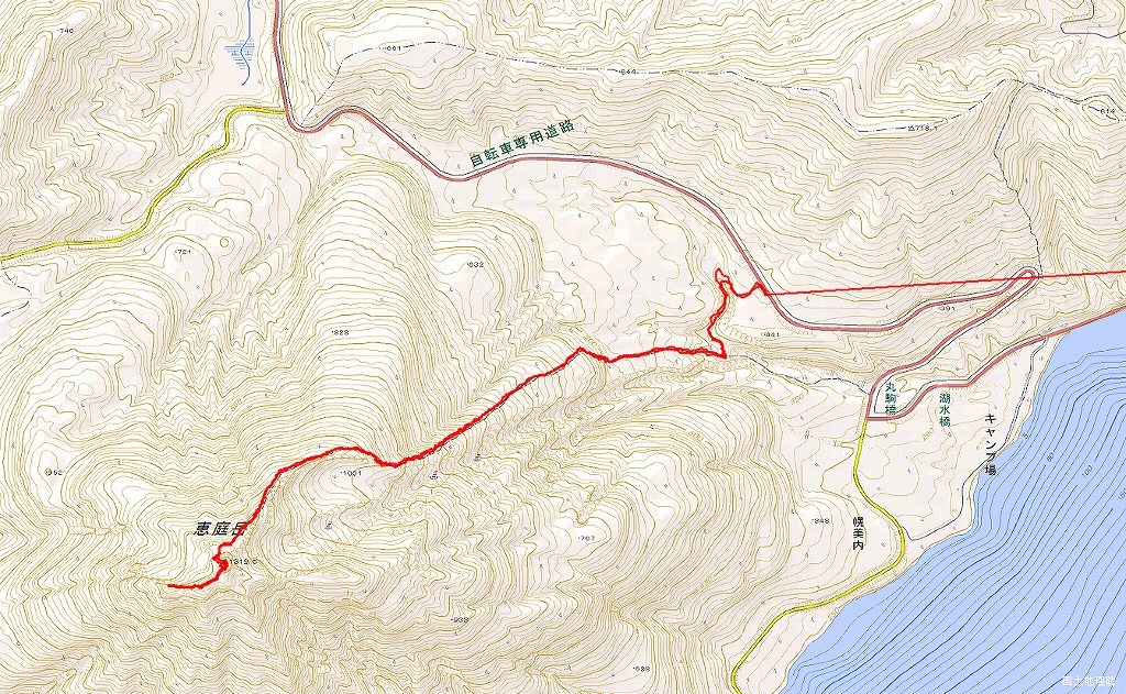恵庭岳、10月7日-初めての登山ルートで-_f0138096_1215039.jpg
