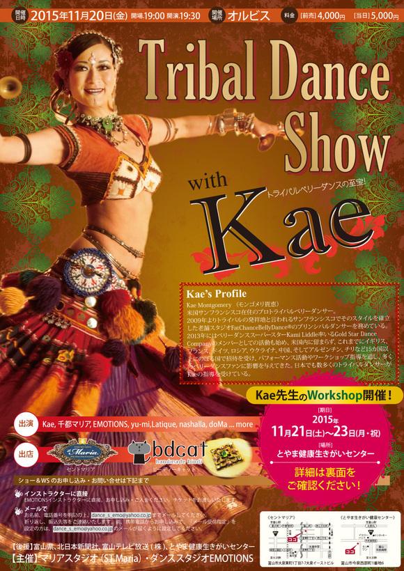 11月は富山でトライバル!Tribal SHOW&WS開催します_c0201916_7184178.jpg