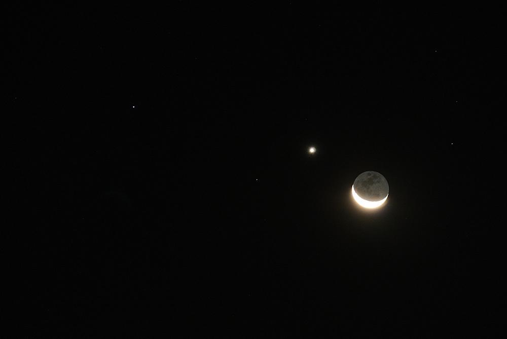 月と金星のランデブー(2015年10月9日、月齢25.5)_e0089232_05175615.jpg