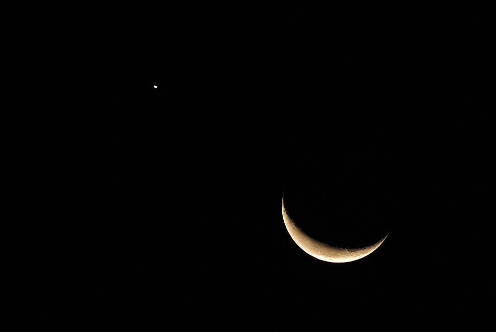 月と金星のランデブー(2015年10月9日、月齢25.5)_e0089232_06312573.jpg