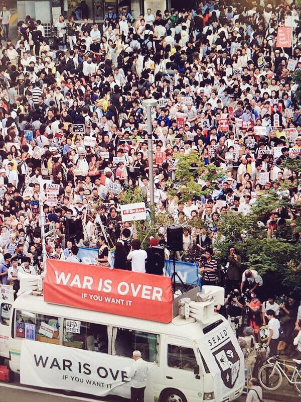 SEALDs  再び渋谷に! 10/18(SUN)_c0024539_3454855.jpg
