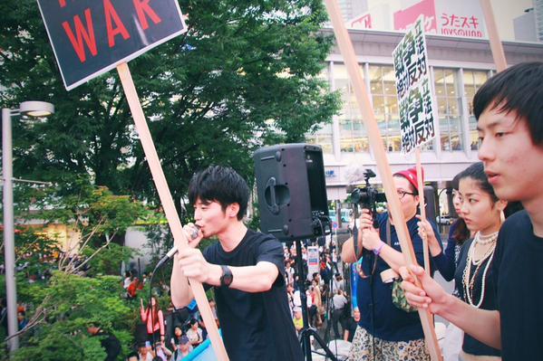 SEALDs  再び渋谷に! 10/18(SUN)_c0024539_3455058.jpg