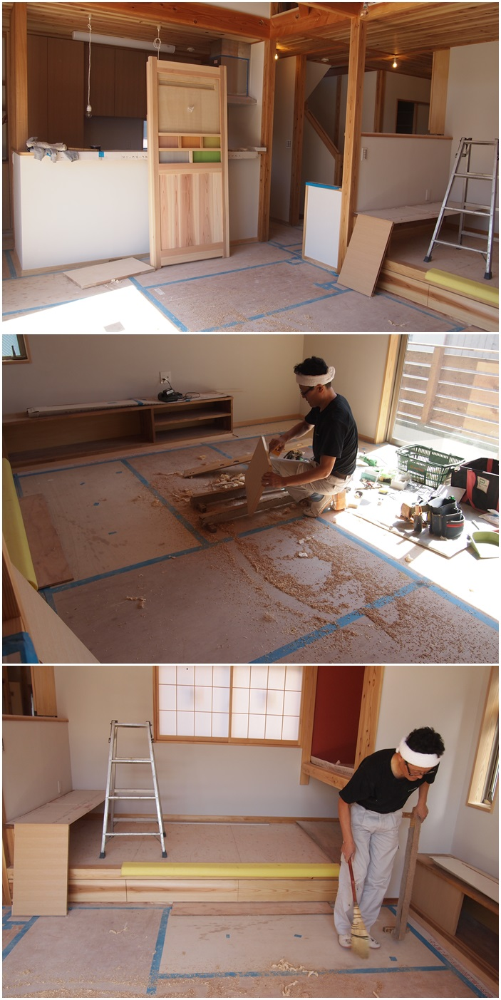 厚木市の家☆建具が入りました_c0152341_17254141.jpg