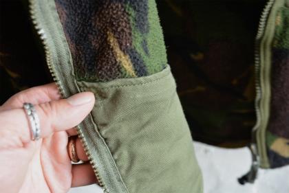 U.K. army DPM camouflage fleece jacket_f0226051_15101294.jpg