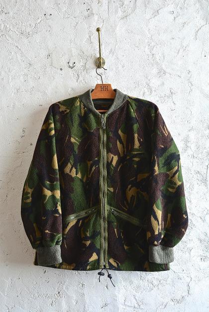 U.K. army DPM camouflage fleece jacket_f0226051_1521614.jpg