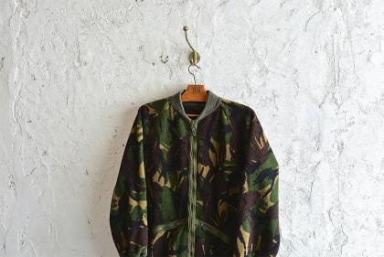 U.K. army DPM camouflage fleece jacket_f0226051_1522885.jpg