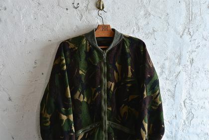 U.K. army DPM camouflage fleece jacket_f0226051_152441.jpg