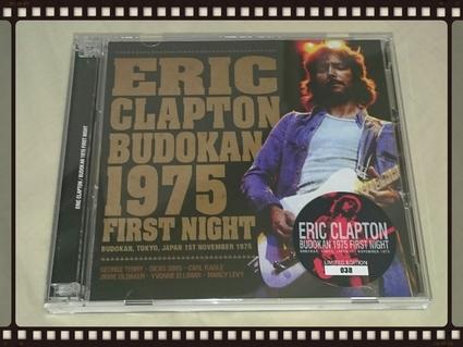 ERIC CLAPTON / BUDOKAN 1975 FIRST NIGHT_b0042308_055261.jpg