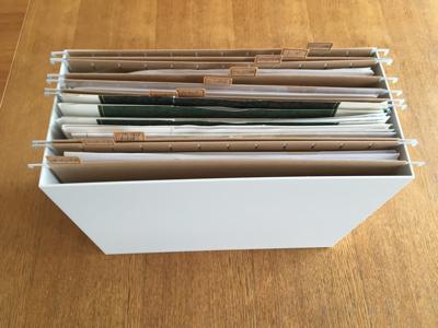 【収納】無印良品のハンギングホルダーで書類整理したらスッキリ片付いたよ! | むぎnote*