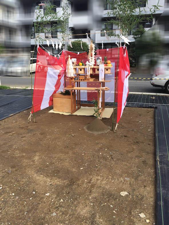 地鎮祭を行う_a0148909_13502373.jpg