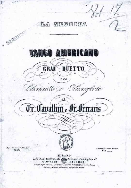 カヴァッリーニ:アメリカン・タンゴ 「ラ・ネグイータ」_b0189423_17435551.jpg