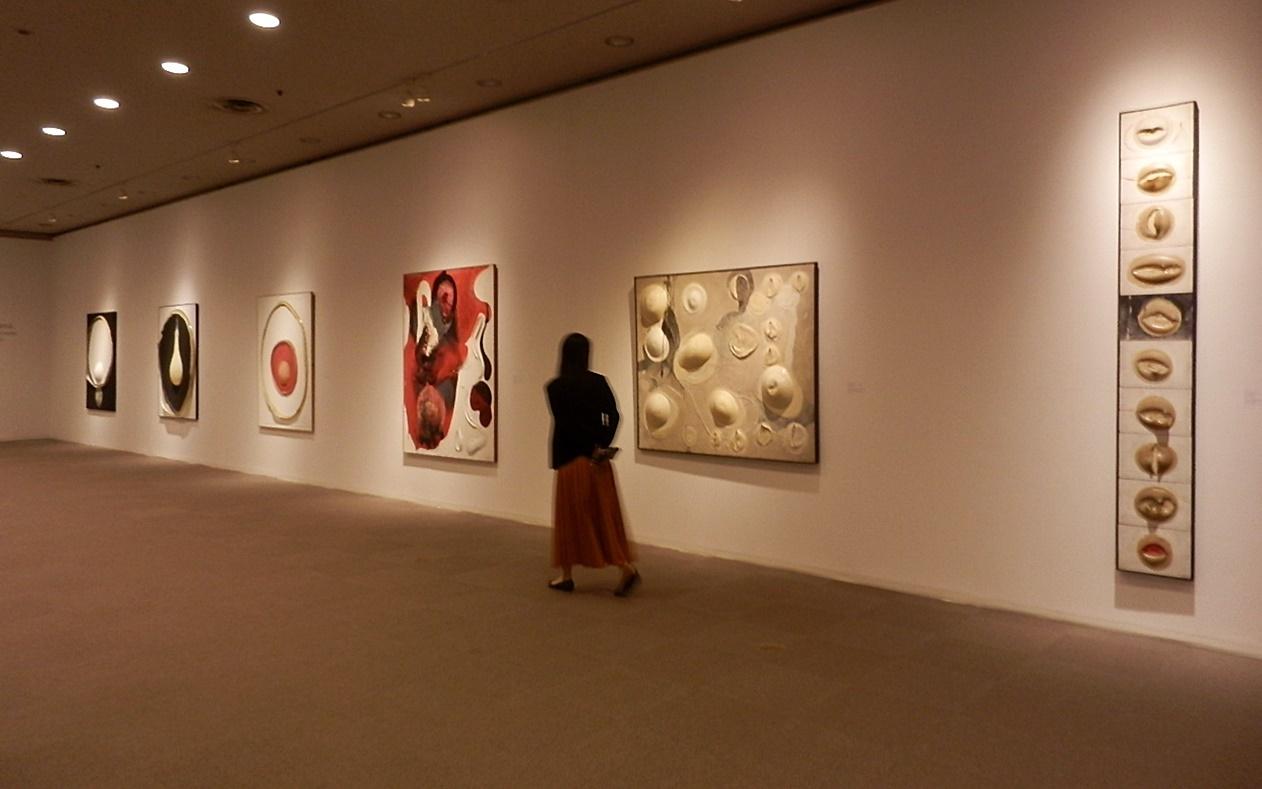 ◆『松谷武判の流れ』展・・・西宮大谷記念美術館_e0154682_16430823.jpg