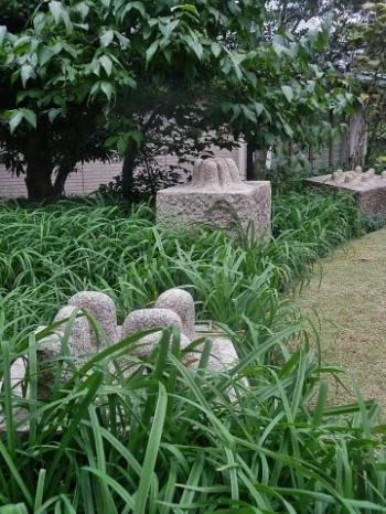 ◆『松谷武判の流れ』展・・・西宮大谷記念美術館_e0154682_16575849.jpg