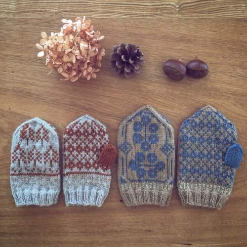 「冬の散歩道」出展者のご紹介 handmade mittens SUNAOさん。_e0060555_15022087.jpg
