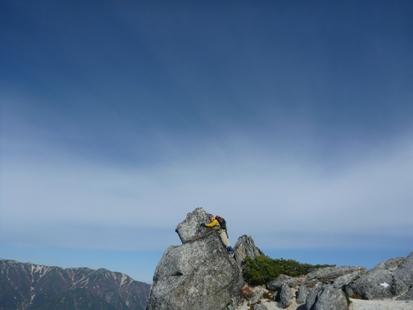 燕岳の滝のぼり_e0077899_8311087.jpg