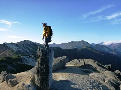 燕岳の滝のぼり_e0077899_8312447.jpg