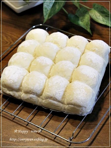 白パンでちぎりサンド弁当♪_f0348032_17341879.jpg
