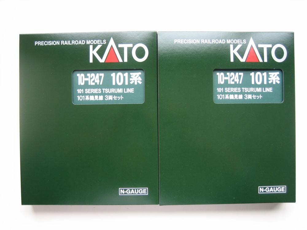 KATO 101系鶴見線3輌セット入線_e0120143_22381916.jpg