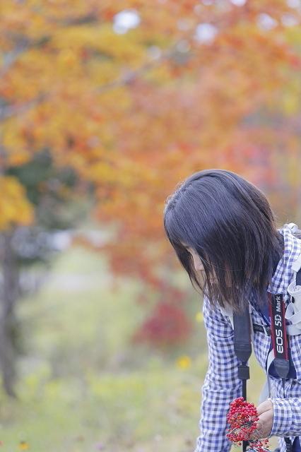 錦秋の山歩き@四阿山 2015.10.12(月)_c0213096_22360539.jpg