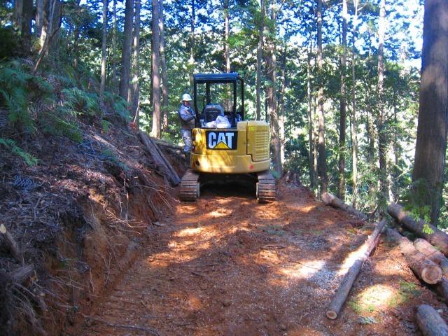 初々しい今年から始めた自伐型林業者たち_e0002820_07193271.jpg