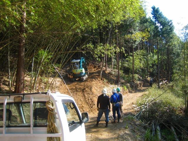 初々しい今年から始めた自伐型林業者たち_e0002820_07193284.jpg