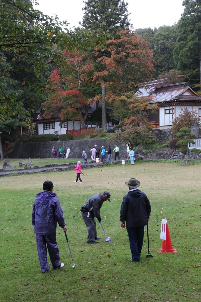 グラウンドゴルフ大会_c0111229_17233913.jpg