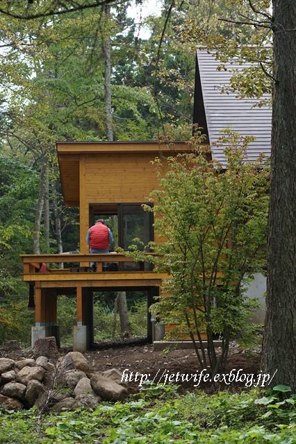 10月の八ヶ岳(1) ~Wood Deckが完成~_a0254243_17391775.jpg