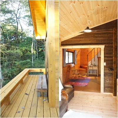 10月の八ヶ岳(1) ~Wood Deckが完成~_a0254243_1740431.jpg