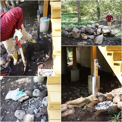 10月の八ヶ岳(2) ~ヤマボウシとキッチンタイルに庭仕事~_a0254243_1823832.jpg