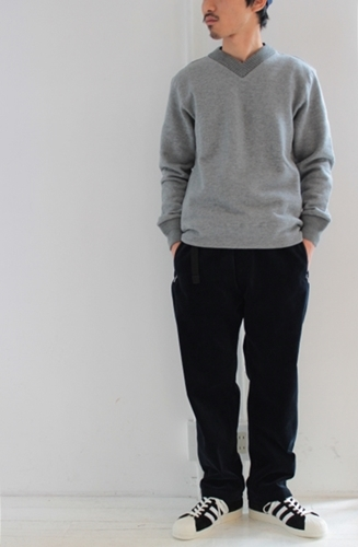 Vneck sweat & parka_e0247148_13201909.jpg