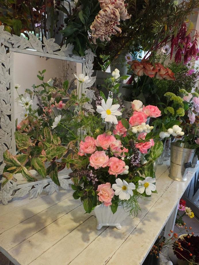 オークリーフ花の教室(山田さんの作品)_f0049672_1851079.jpg