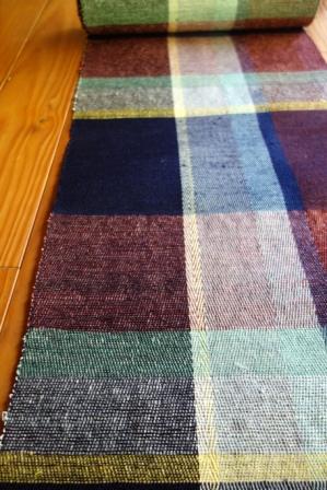 綾織りの八寸帯地・『色硝子』。_f0177373_194128.jpg