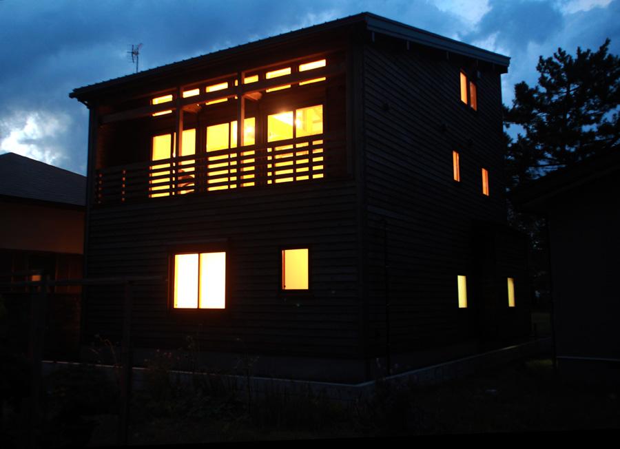 H様邸「栄町の家」 夜景_f0150893_1921528.jpg