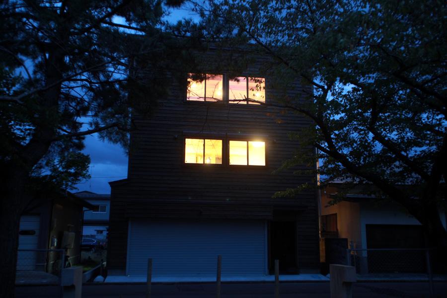 H様邸「栄町の家」 夜景_f0150893_1923367.jpg