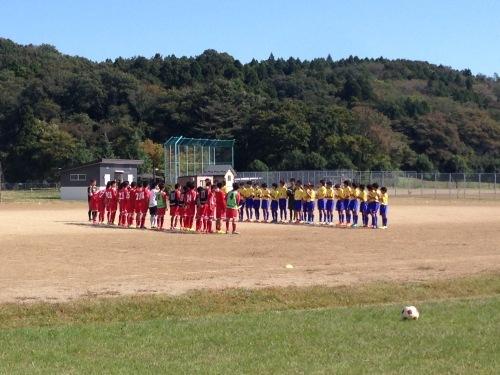 U-13&14 練習試合:vs 仙台中田 October 12, 2015_c0365198_01135050.jpg
