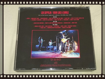 LED ZEPPELIN / BURN LIKE A CANDLE_b0042308_362910.jpg