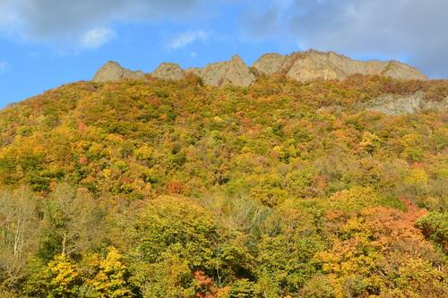 """2015年10月『深秋の八剣山』 October 2015 \""""Mt Hakkenzan (Mt Eight Teeth) in autumn colour\""""_c0219616_1873457.jpg"""