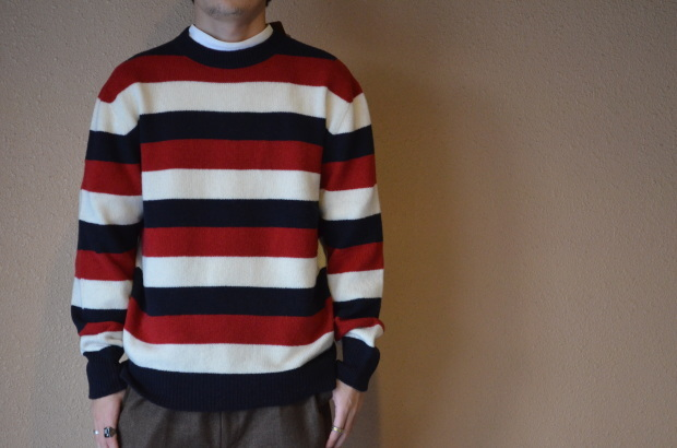 Wholegarment Border Sweater!!_c0355834_18173551.jpg