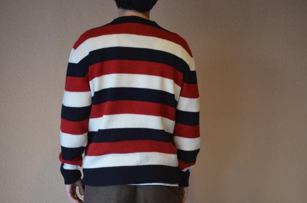 Wholegarment Border Sweater!!_c0355834_18173869.jpg