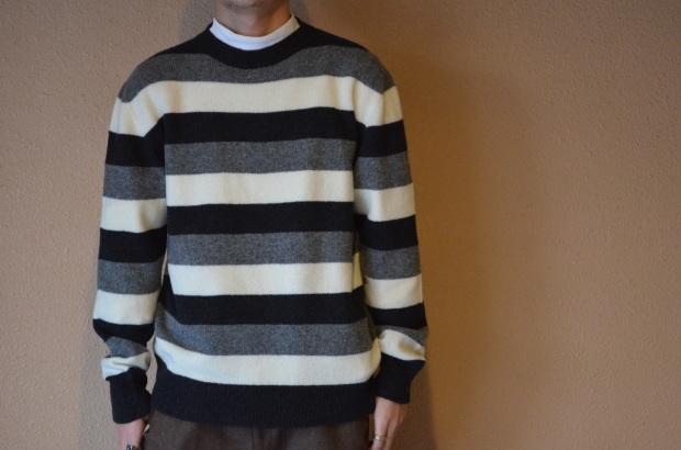 Wholegarment Border Sweater!!_c0355834_18174062.jpg
