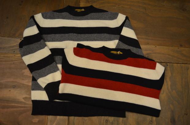 Wholegarment Border Sweater!!_c0355834_18183675.jpg