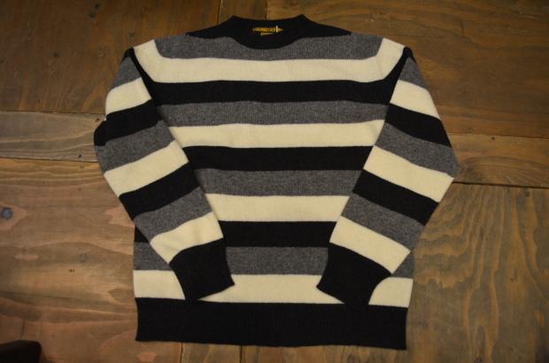 Wholegarment Border Sweater!!_c0355834_18183866.jpg