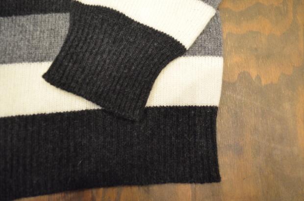 Wholegarment Border Sweater!!_c0355834_18184464.jpg
